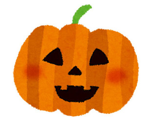 Freeillustrationhalloweenpumpkin01